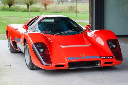 Rare 1969 McLaren M12 Coupe up for Auction