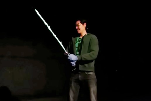 Someone Made a Real-Life Lightsaber That Actually Burns