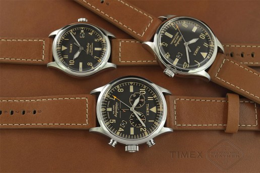 "Red Wing Shoes & Timex Team up for ""Waterbury"" Watch Collection"