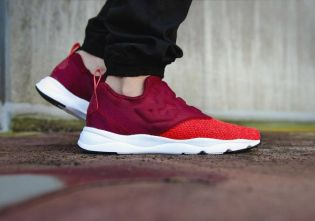 "Reebok Furylite Slip-On Knit ""Burgundy"""