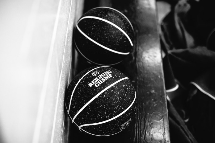 "Reigning Champ x Spalding Limited Edition ""One For One"" Basketball"