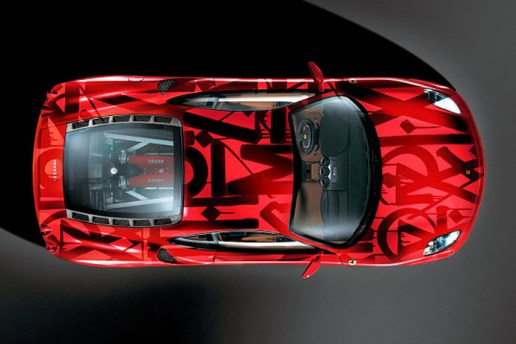 RETNA Paints on a Ferrari F430 for Art Basel Miami