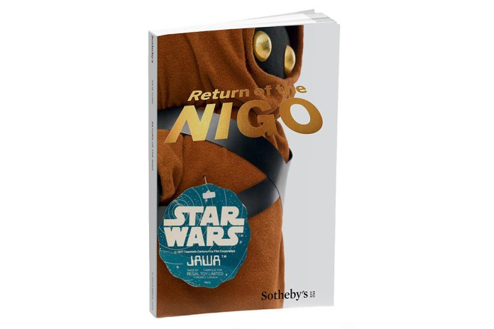 NIGO's 'Star Wars' Collectible Auction Gets the Catalog Treatment