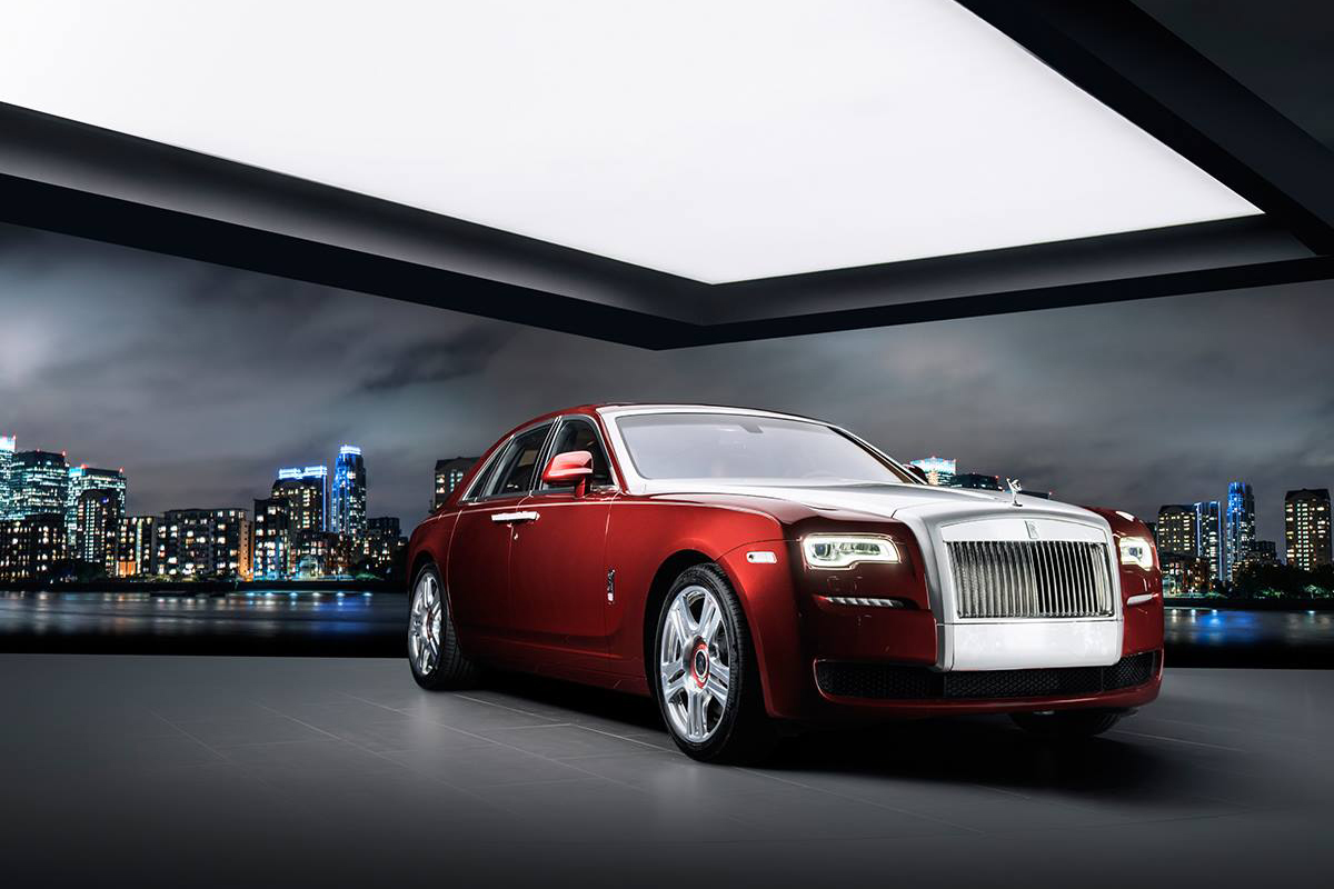 """This Rolls-Royce """"Red Diamond"""" Ghost Was Created for One Man and One Man Only"""