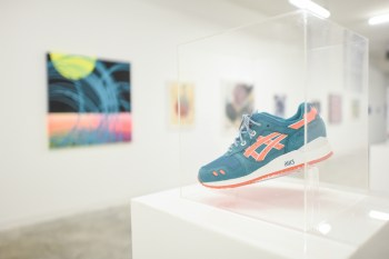 "A Look Inside Ronnie Fieg's ""Homage"" Sneaker Exhibition"