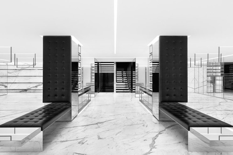 Saint Laurent Opens Its Largest Store to Date in Tokyo