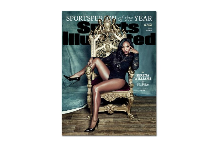 Serena Williams Named 'Sports Illustrated' 2015 Sportsperson of the Year
