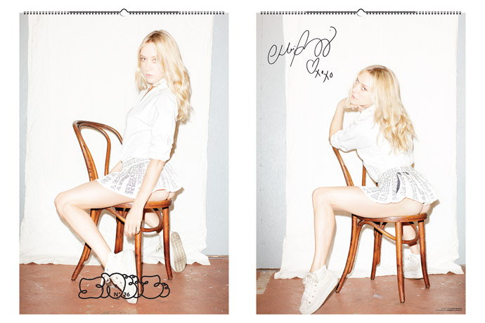 """'SNEEZE' N°26 """"the iCal issue"""" Featuring Chloë Sevigny"""
