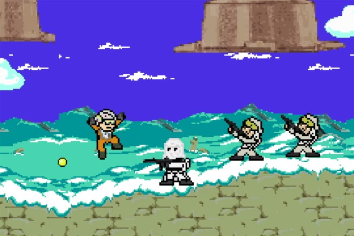The 'Star Wars' Trilogy Reimagined as Iconic Old School Video Games
