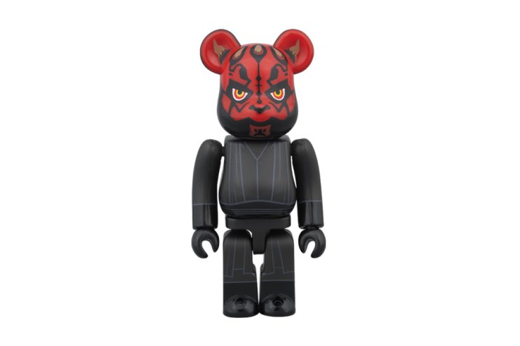 Star Wars x Medicom Toy Holographic Darth Vader & Darth Maul 100% Bearbrick