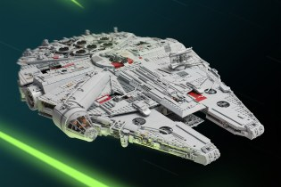 Check out the Biggest LEGO Millennium Falcon Ever Made