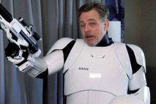 Mark Hamill Goes Undercover as a Stormtrooper