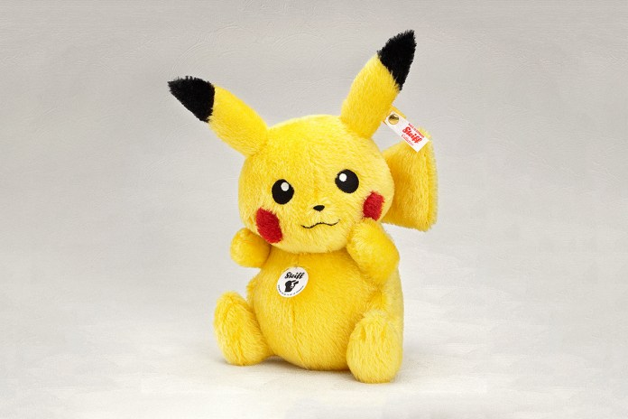 Steiff Is Releasing a Limited Edition Stuffed Pikachu That Costs $340 USD