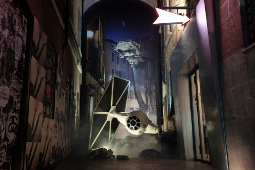 Stone Soup Brescia Is Home to an Awesome 'Star Wars' Installation