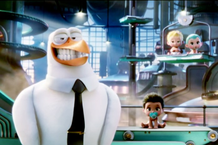'Storks' Official Teaser Trailer Starring Kelsey Grammar and Andy Samberg