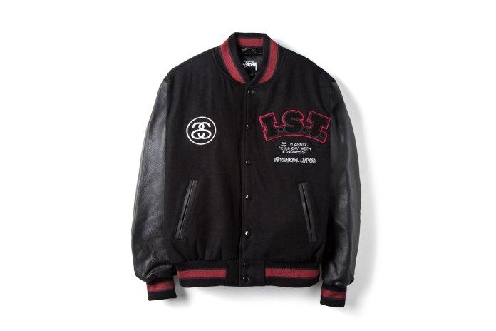 Stüssy 35th IST Varsity Jacket