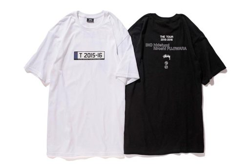 "fragment design x Stüssy 2015-2016 ""THE TOUR"" Merchandise"