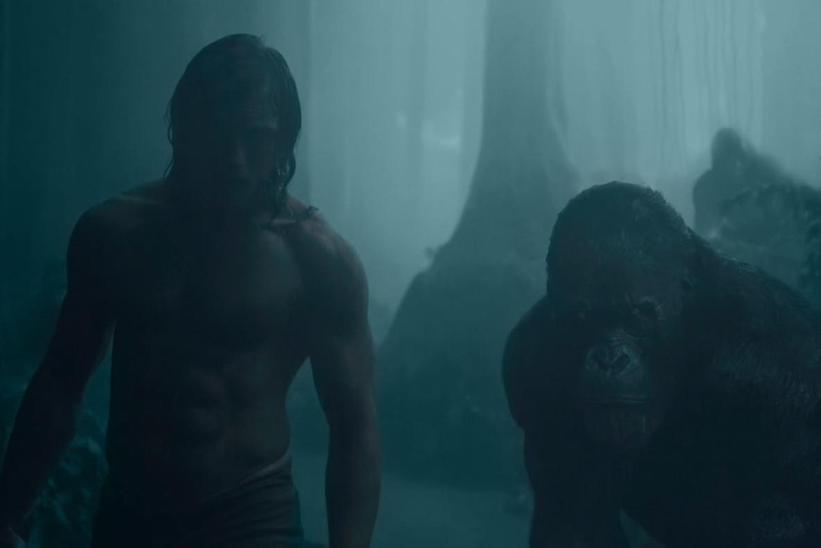 'The Legend of Tarzan' Official Teaser Trailer Starring Alexander Skarsgård and Margot Robbie