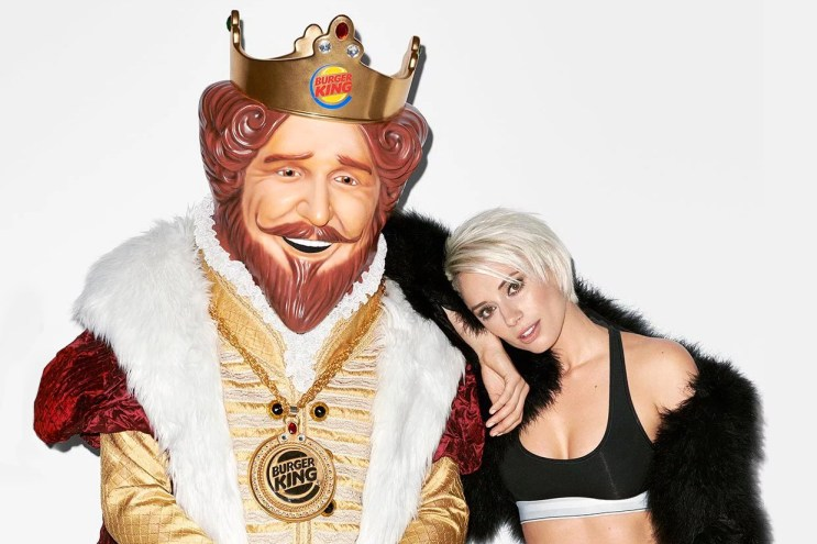 Terry Richardson Photographs the Burger King