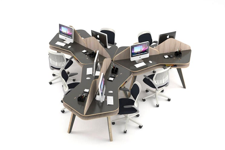 The Tessela Modular Desk by NOS Designs Is as Versatile as It Is Mobile