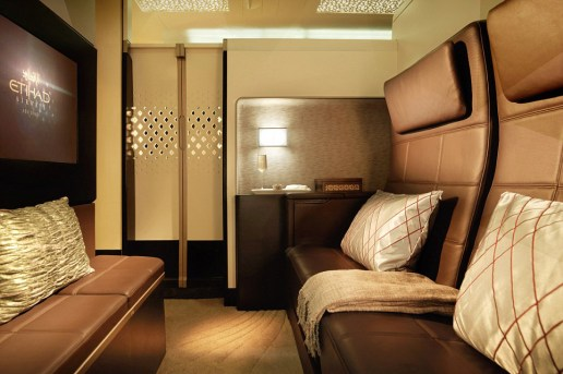 What It's Like in Etihad Airways' Ultra-Luxurious, Three-Room $32,000 USD Residence Suite