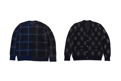 the POOL aoyama x UNDERCOVER 2015 Winter Sweaters