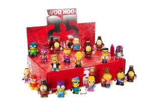 'The Simpsons' x Kidrobot 25th Anniversary Mini Series