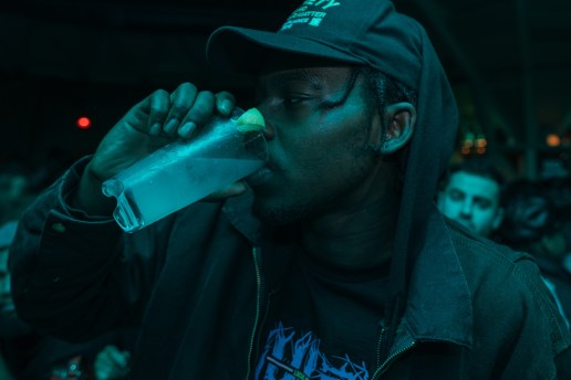 Theophilus London Comes Through With a Gang of Tanqueray for a G-Funk Party in NYC