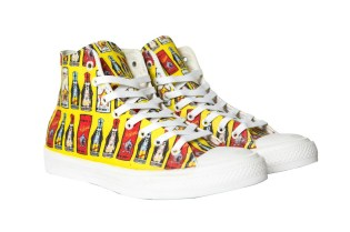 """TI$A """"Bottle Jeans"""" High-Top Sneaker Brings Back '90s Versace Styling"""