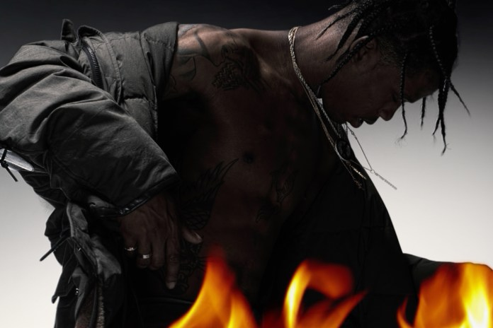 Behind the Scenes of Travi$ Scott's Candid Interview