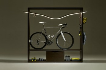 The Vadolibero Bike Shelf Is the Most Stylish Way to Store Your Bike