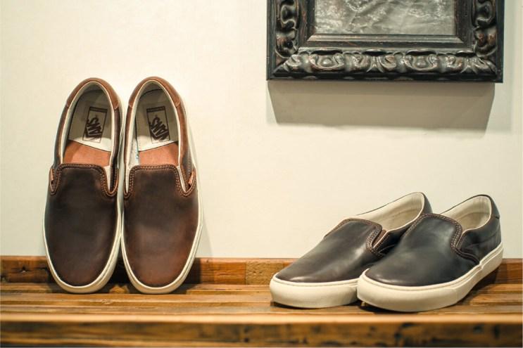 "Vans California Slip-On Cup CA ""Taste of Chocolate"" BILLY'S Exclusive"