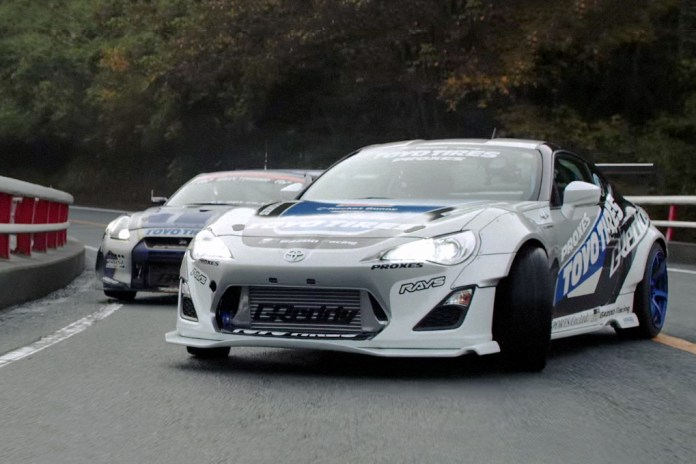 Watch These Vintage F1 Race Cars on a Japanese Mountain Attack Course