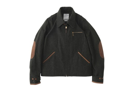 visvim 2015 Fall/Winter Blackhawk Blouson (Melange Wool)