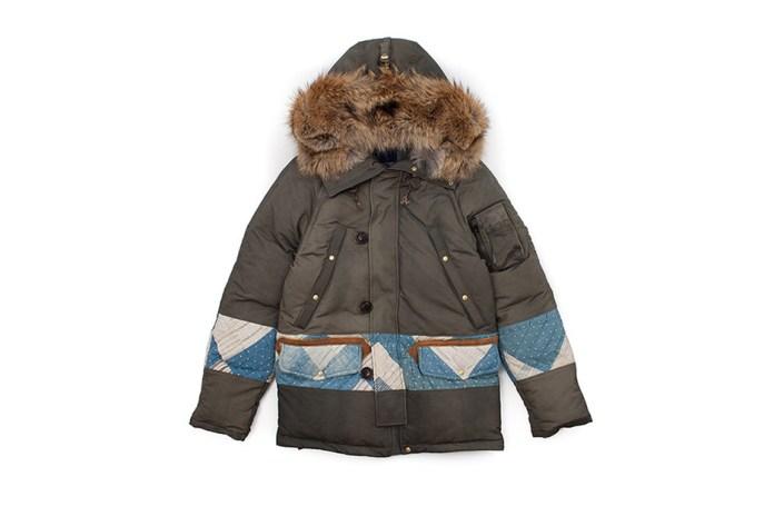 visvim Releases Its 2015 Valdez Down Jacket With Patchwork Detailing