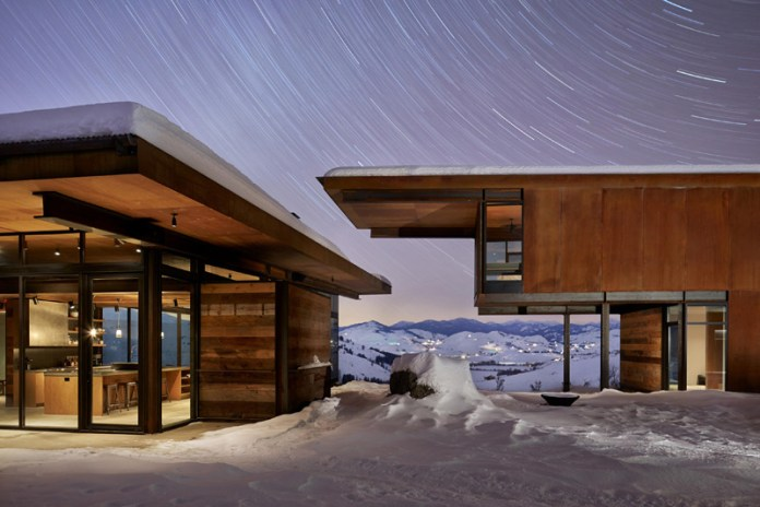 This Stunning Rural Home Is Built Around a Glacial Erratic