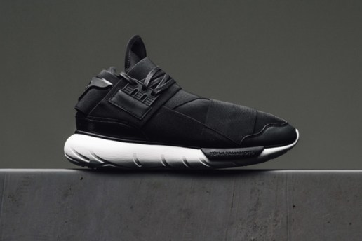 The Y-3 Qasa High Returns in Black With Subtle Changes
