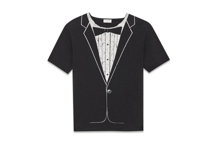 YSL Tuxedo T-shirt Is a Classy Reinterpretation for $450 USD