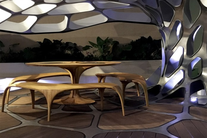 Zaha Hadid & Patrik Schumacher Unveil the Futuristic Volu Pavilion at Design Miami