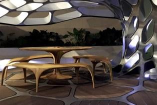 Zaha Hadid & Patrik Schumacher Unveil the Futuristic Volu Pavilion at Design Miami