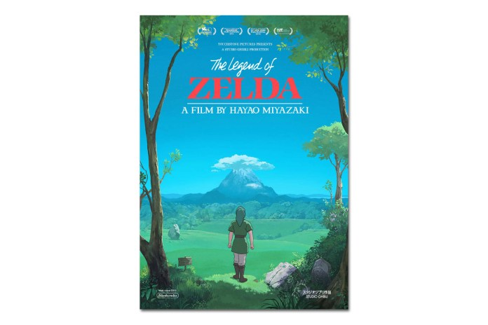 What If 'The Legend of Zelda' Was a Film Produced by Studio Ghibli?
