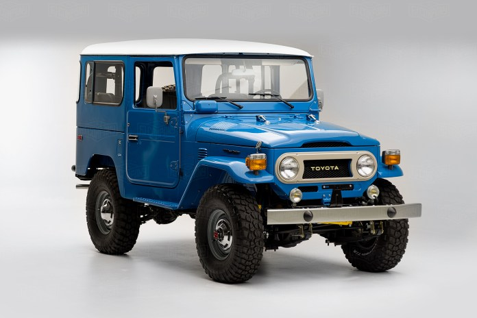 This 1978 Toyota FJ40 Land Cruiser Looks Perfectly at Home in 2016