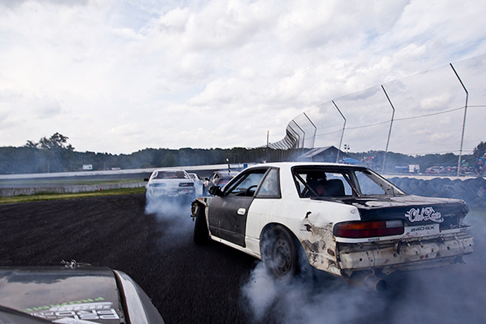 This 360-Degree Video Lets You Ride With a Two-Time Formula Drift Champion