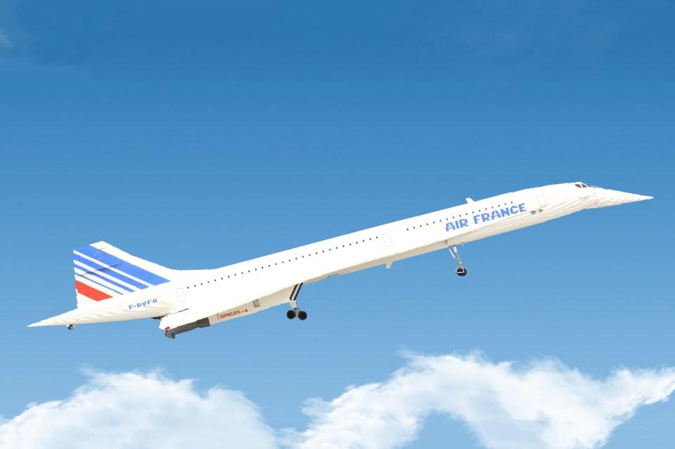 Lego Concorde Airplane Hypebeast