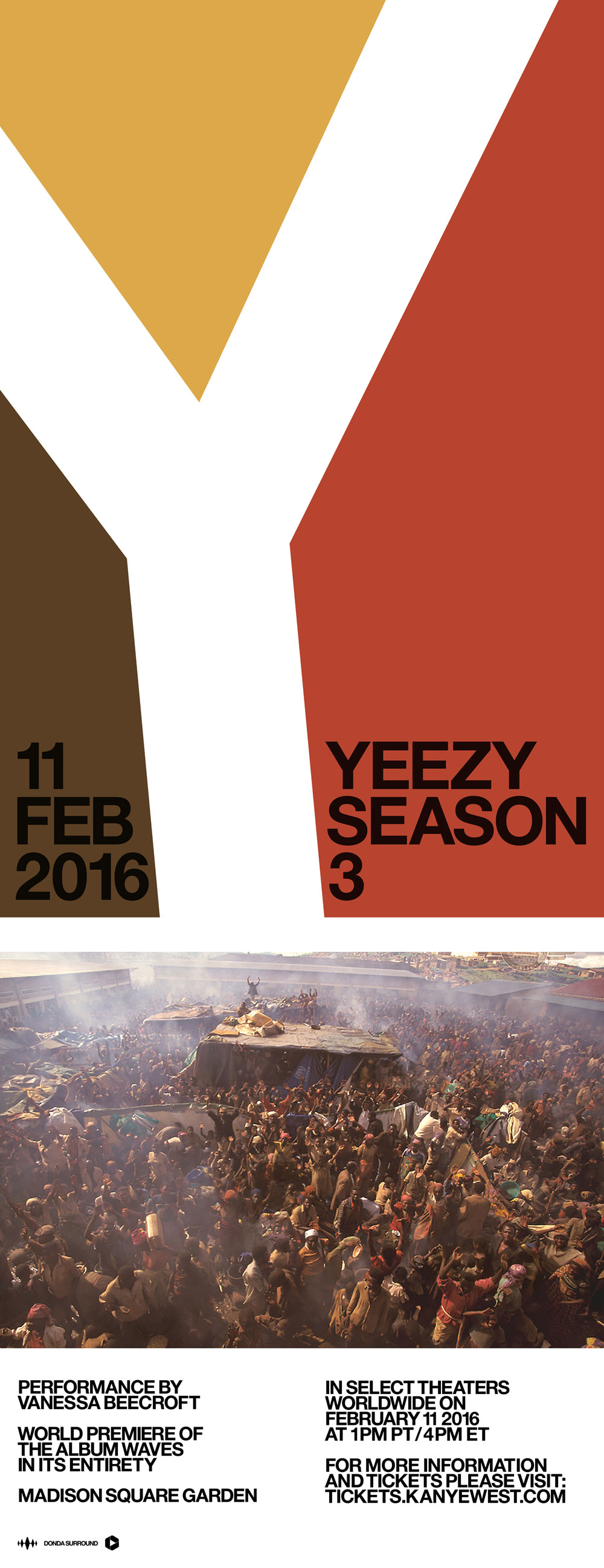 Kanye west may debut swish and yeezy season 3 at madison square garden hypebeast for Madison square garden kanye west