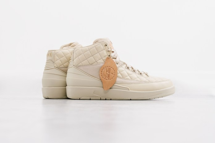 "A Closer Look at the Just Don x Air Jordan 2 ""Beach"""
