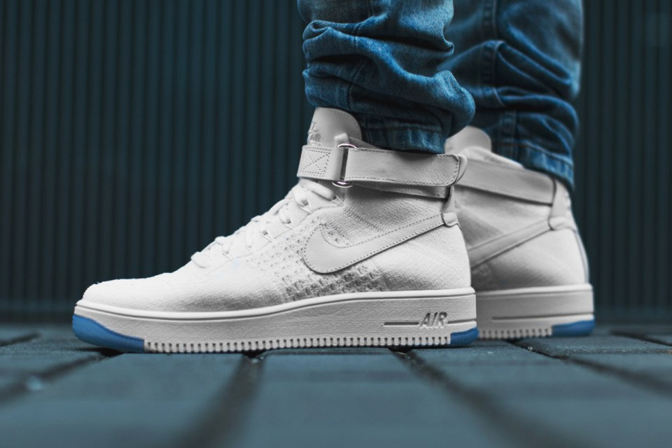 nike air force 1 ultra flyknit mid closer look