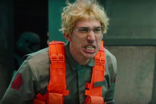 Adam Driver Goes Berserk in Bloopers for SNL's Kylo Ren Skit
