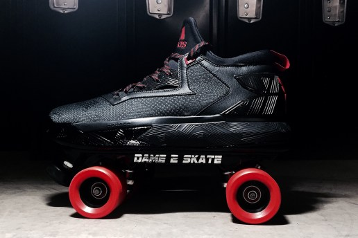 adidas Gifted a Rollerskate Version of the D Lillard 2 to Damian Lillard