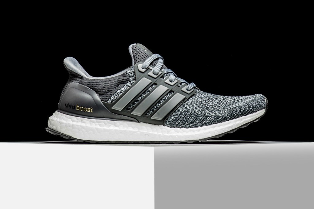 Adidas Ultra Boost 3.0 LTD 'Mid Gray Leather Cage Size 11.5